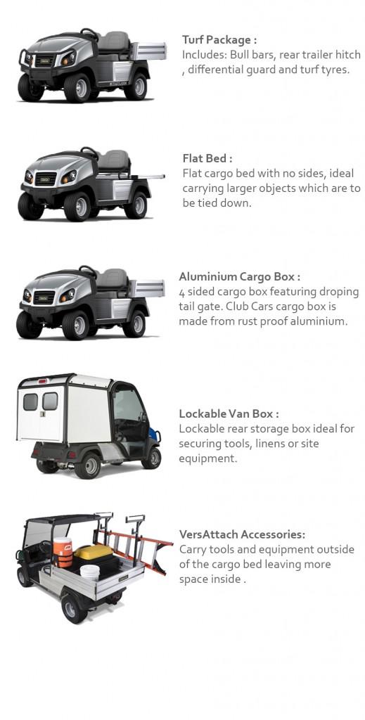 Carryall 500 Utility Vehicle - Spolemangolf